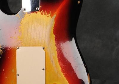 Fender Stratocaster 1963 Sunburst 4 (10)