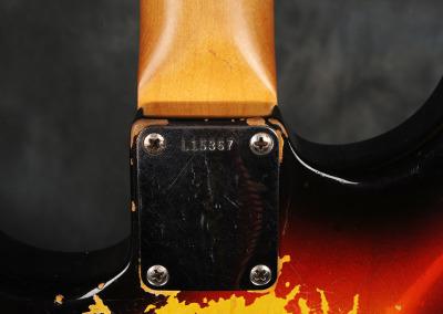 Fender Stratocaster 1963 Sunburst 4 (11)