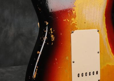 Fender Stratocaster 1963 Sunburst 4 (9)