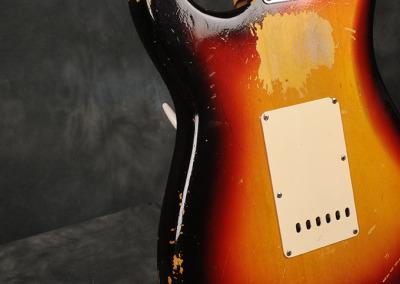 Fender Stratocaster 1964 Sunburst 1 (10)