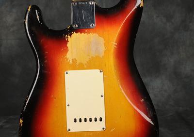 Fender Stratocaster 1964 Sunburst 1 (8)