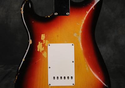 Fender Stratocaster 1964 Sunburst 2 (6)