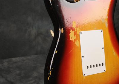 Fender Stratocaster 1964 Sunburst 2 (7)