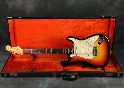 1964 Fender Stratocaster Sunburst (4)