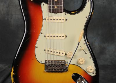 Fender Stratocaster 1964 Sunburst 4 (2)