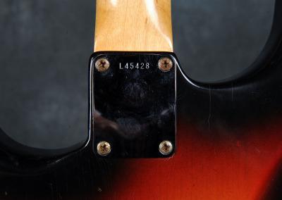Fender Stratocaster 1964 Sunburst 5 (6)