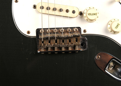 Fender Stratocaster 1965 Charcoal Frost (12)