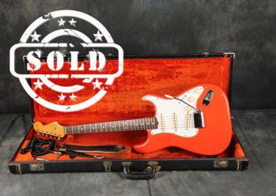 1965 Fender Stratocaster Fiesta Red