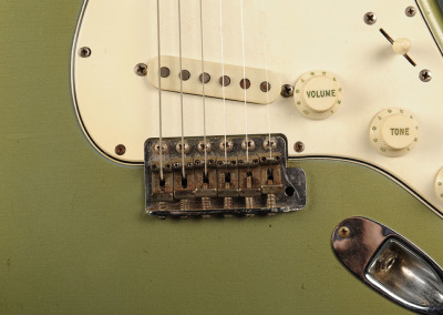 Fender Stratocaster 1965 Green (11)
