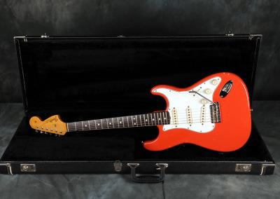 1966 Fender Stratocaster Fiesta Red
