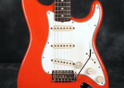 Fender Stratocaster 1966 Fiesta Red (2)