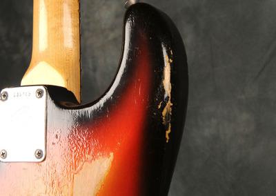 Fender Stratocaster 1966 Sunburst 6 (11)