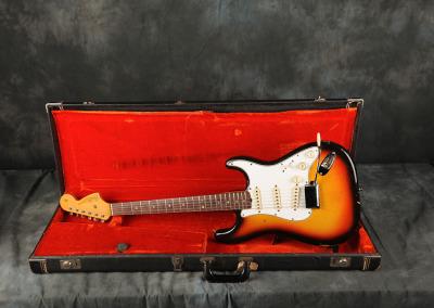 1966 Fender Stratocaster Sunburst (6)