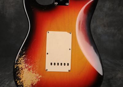 Fender Stratocaster 1966 Sunburst 8 (4)