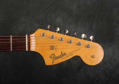 Fender Stratocaster 1966 Sunburst 8 (8)
