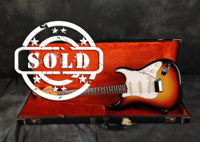 Fender Stratocaster 1966 Sunburst 8 SOLD