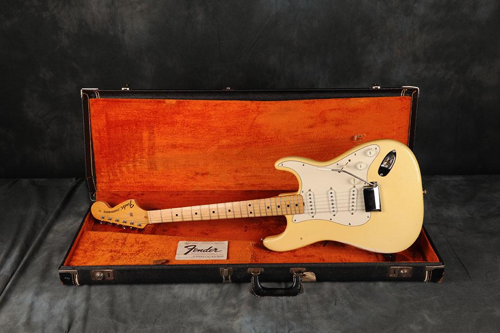 1970 Fender Stratocaster Olimpic White