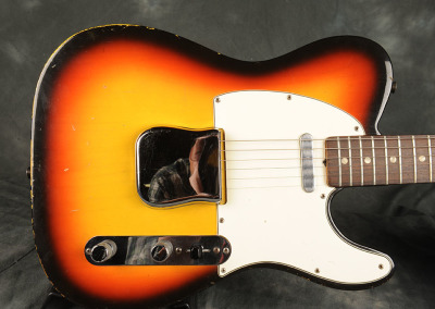 Fender Telecaster 1966 Sunburst (8)
