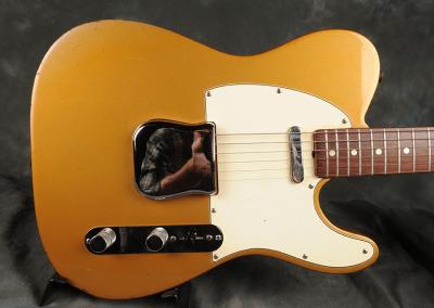 Fender Telecaster 1968 Finemist Gold (8)
