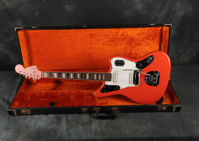 1966 Fender Jaguar Fiesta Red