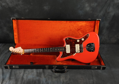 1962 Fender Jazzmaster Fiesta Red Refinished