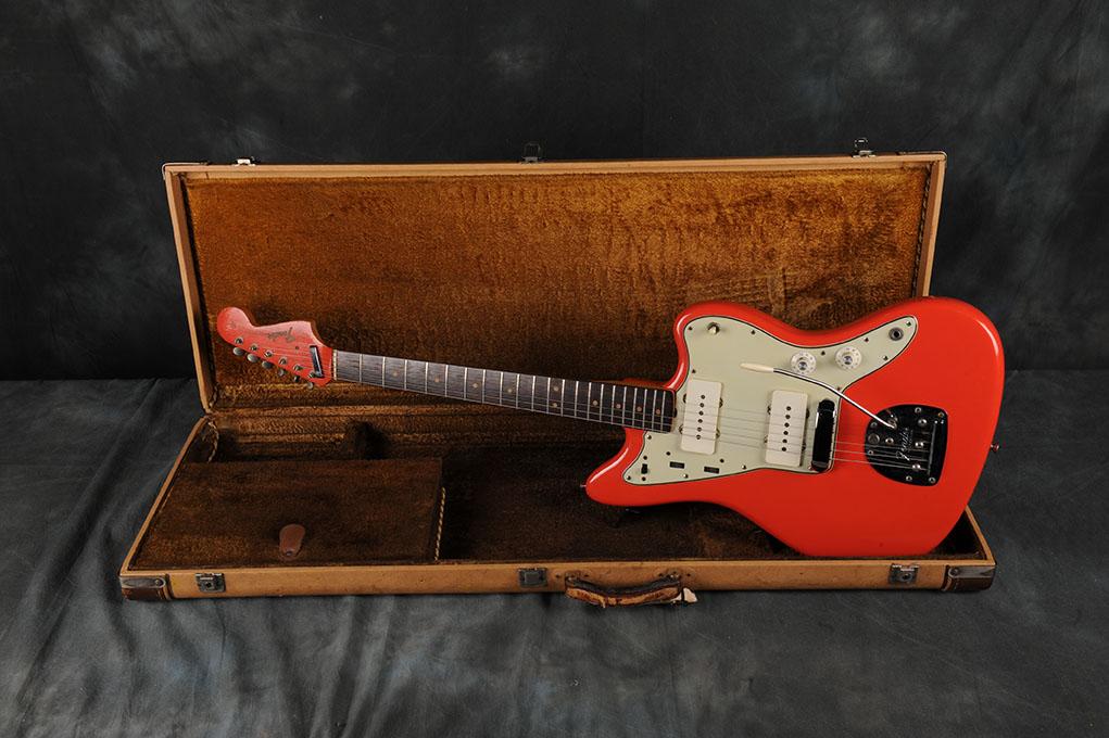 1965 Fender Jazzmaster Fiesta Red
