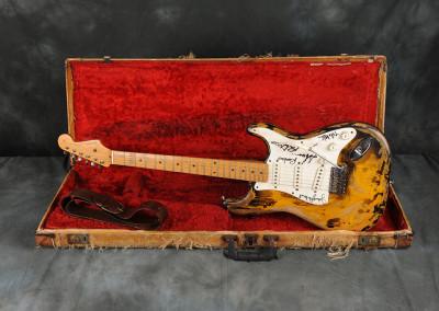 Fender Stratocaster 1959 sunburst A. Radius