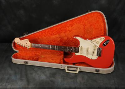 1967 Fender Stratocaster Fiesta Red