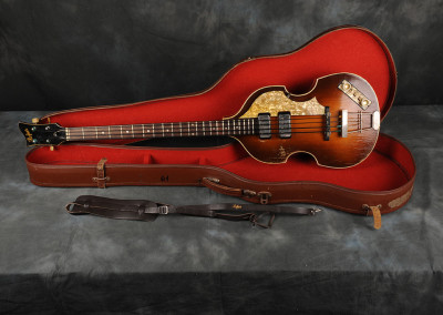 "1961 Hofner Violin Bass ""Cavern"" Right hand"