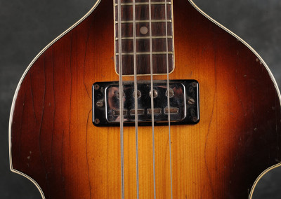 hofner 1963-64 violin-bass sunburst