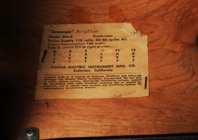 1959 Fender Bassman Amps (10)