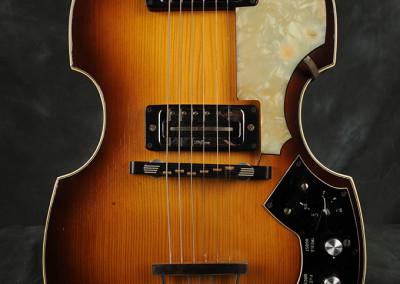 1970 hofner Violin guitar (2)