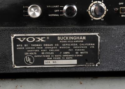 Vox  1964 Buckingam (7)