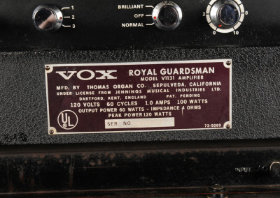 Vox 1966 Royal Guardsman (10)